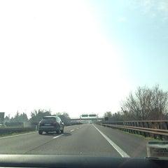 Photo taken at A22 - Mantova Sud by Giulia F. on 3/10/2014