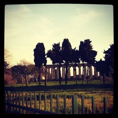 Photo taken at Area Archeologica di Paestum by Maria Giovanna P. on 3/29/2013