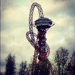 Photo taken at London 2012 Olympic Park by Andrew W. on 12/10/2012