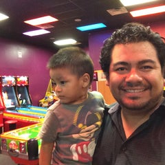 Photo taken at Peter Piper Pizza by Carlos M. on 8/10/2015