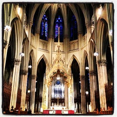 Photo taken at St. Patrick's Cathedral by Gerry C. on 6/1/2013