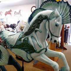 Photo taken at Albany Carousel & Museum by Caroline O. on 4/24/2015