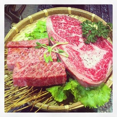 Photo taken at 燃Moe燒肉二店 by Daniel H. on 6/22/2013