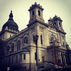 Photo taken at Basilica of Saint Mary by Steve R. on 11/2/2012