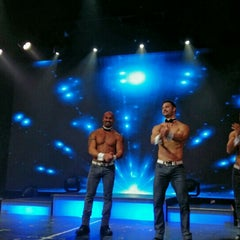 Photo taken at Chippendales Theatre at The Rio Vegas by Anastasia K. on 9/23/2015