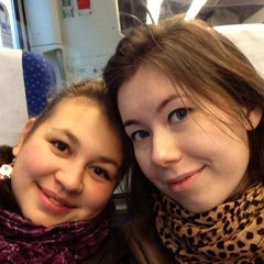 Photo taken at Malpensa Express (Cadorna) by Dinara S. on 12/20/2012