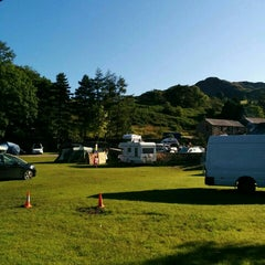 Photo taken at Eskdale Camping and Caravanning Club Site by Adam S. on 8/8/2015