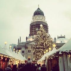 Photo taken at Weihnachtsmarkt an der Gedächtniskirche by Pat S. on 12/11/2012