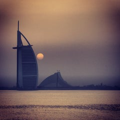 Photo taken at Burj Al Arab by Steve L. on 5/15/2013