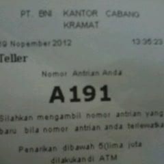 Photo taken at BNI by Mashashy N. on 11/19/2012