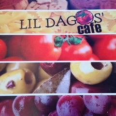 Photo taken at Lil Dagos' Cafe by Jennifer L. on 1/22/2014