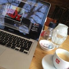 Photo taken at Parkcafé Buiten by Bea M. on 4/2/2013