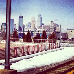 Photo taken at Franklin Avenue LRT Station by Will of LEVEL 13 on 3/28/2013