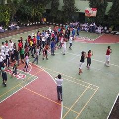 Photo taken at SMAN 61 Jakarta by irene p. on 11/25/2014