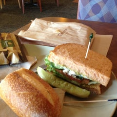 Photo taken at Panera Bread by Katherine M. on 3/2/2013