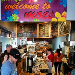 Photo taken at Moe's Broadway Bagels by Jeremiah O. on 5/17/2015