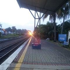 Photo taken at Stesen Keretapi Kluang by HS T. on 6/25/2013