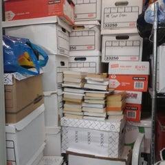 Photo taken at Manhattan Mini Storage by Sarah D. on 9/22/2012