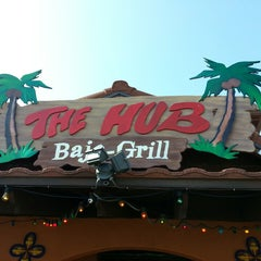 Photo taken at The Hub Baja Grill by Kevin M. on 4/1/2013