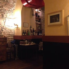 Photo taken at Osteria Del Pettirosso by Matteo S. on 8/30/2013