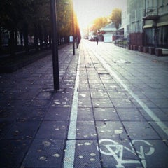 Photo taken at Laisvės alėja | Liberty Avenue | Аллея Свободы by Vytautas J. on 10/7/2012