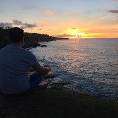 Photo taken at Tegal Wangi Beach by Ruslan V. on 1/3/2016