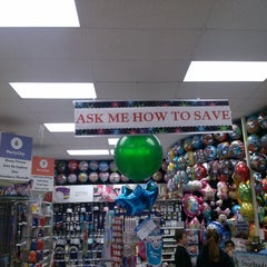 Photo taken at Party City by Andrew B. on 4/6/2013