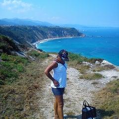 Photo taken at Faro de Cabo Vidio by Miguel on 8/29/2013