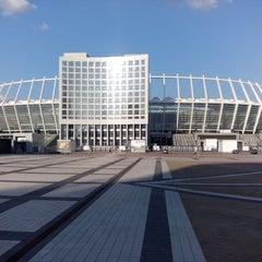 Photo taken at НСК «Олімпійський» / Olimpiyskiy Stadium by Сергей Г. on 7/13/2013