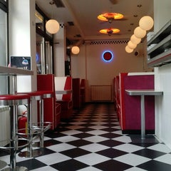 Photo taken at Intergalactic Diner by Jovana V. on 6/28/2013