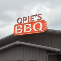 Photo taken at Opie's BBQ by CentralTexas R. on 3/22/2015