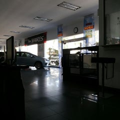 Photo taken at PT. Agung Toyota by Afdanir A. on 5/28/2014