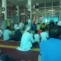 Photo taken at Masjid Al-Mukminun by bent -. on 10/26/2012