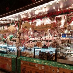 Photo taken at Christkindlmarkt by Angela P. on 12/17/2012