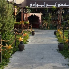 Photo taken at Reem al Bawadi مطعم ومقهى ريم البوادي by Norah S. on 7/5/2013