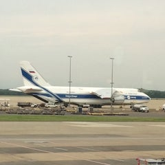 Photo taken at Concourse C by Konstantin S. on 6/11/2014