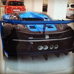 Photo taken at Bugatti | Automobil Forum Unter den Linden by Sezgin M. on 11/25/2015