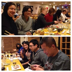 Photo taken at Murasaki Restaurant and Sushi Bar by Kevin H. on 12/9/2013