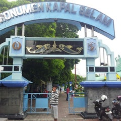 Photo taken at Monumen Kapal Selam by Ryan R. on 3/2/2013