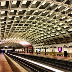 Photo taken at Metro Center Metro Station by Daguito R. on 6/4/2013