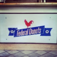 Photo taken at Federal Donuts by Yasmin R. on 6/28/2013