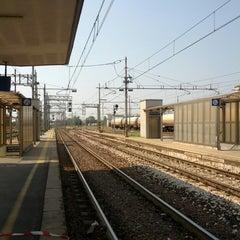 Photo taken at Stazione Ferrara by Dimitris S. on 4/19/2013
