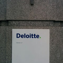 Photo taken at Deloitte by Kevin M. on 1/16/2014