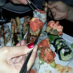 Photo taken at Takayama Sushi Lounge by Marianna S. on 7/7/2013