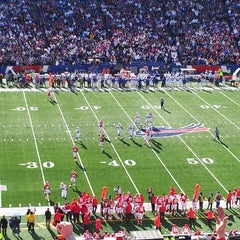 Photo taken at Lot 5 Ralph Wilson Stadium by Mike S. on 11/4/2013