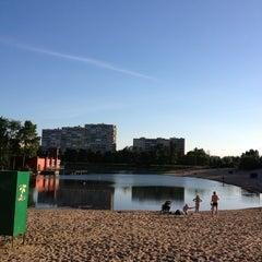Photo taken at Ольгинский пруд by Irina M. on 6/21/2013