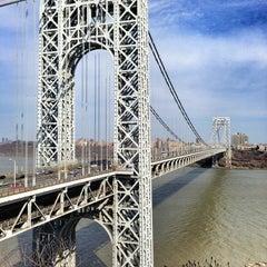 Photo taken at George Washington Bridge by Michael D. on 4/7/2013