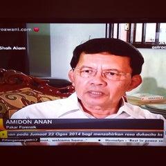 Photo taken at Ibu Pejabat Polis Kontinjen Selangor by Bella J. on 8/22/2014