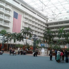 Photo taken at Orlando International Airport (MCO) by Crystal W. on 7/24/2013