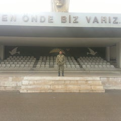 Photo taken at Piyade Okulu by Aykut G. on 3/16/2014